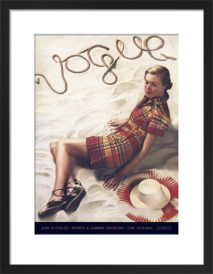 Vogue June 1934 by Bruehl & Bourges