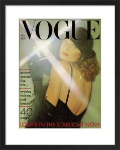 Vogue October 1974 by Oliviero Toscani
