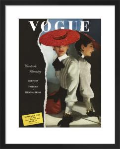 Vogue September 1943 by Horst P. Horst