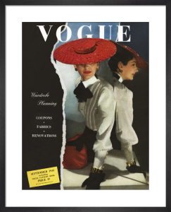 Vogue September 1943 by Horst P. Horst