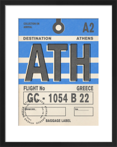 Destination - Athens by Nick Cranston