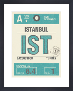 Destination - Istanbul by Nick Cranston
