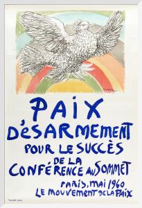 Paix Desarmement pour le Success de la Conference au Sommet by Pablo Picasso