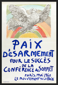 Paix Desarmement pour le Success de la Conference au Sommet by Pablo Picasso