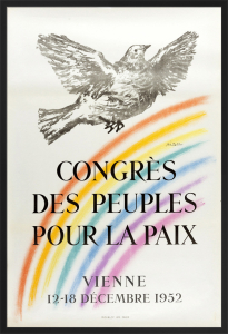Congres des Peuples pour la Paix by Pablo Picasso