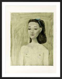 Portrait of Nush Eluard, 1950 by Pablo Picasso