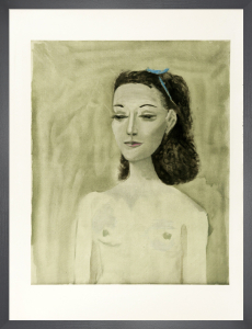 Portrait of Nush Eluard, 1950 by Pablo Picasso
