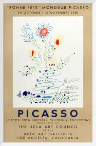 Bonne Fete Monsieur Picasso, 1961 by Pablo Picasso