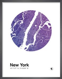 New York by MMC Maps