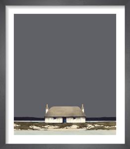 Hebridean Blackhouse by Ron Lawson