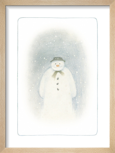 The Snowman inside cover illustration by Raymond Briggs