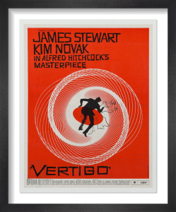 Vertigo (1958) by Saul Bass