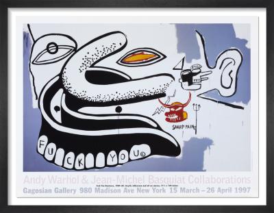 Andy Warhol & Jean-Michel Basquiat Collaborations (1997) by Andy Warhol & Jean-Michel Basquiat