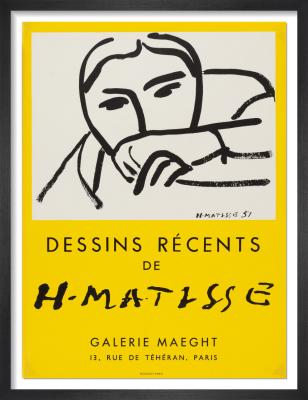 Dessins Recents, 1952 by Henri Matisse