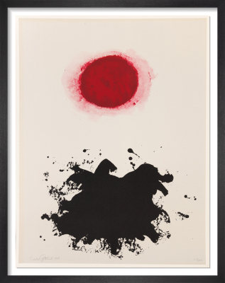 Untitled (Red Burst), 1969 (Signed) by Adolph Gottlieb