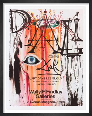 L'art dans les bijoux, 1971 by Salvador Dali