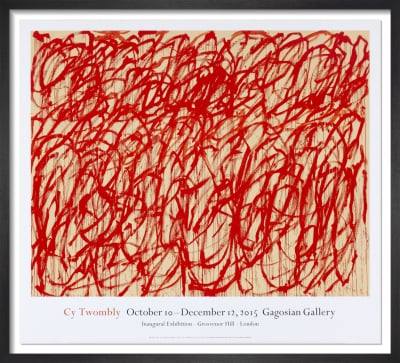 Bacchus (2006-08) by Cy Twombly