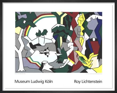 Landscape With Figures (1989) by Roy Lichtenstein