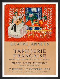 Quatre Anées de Tapisserie Francaise, 1949 by Henri Matisse