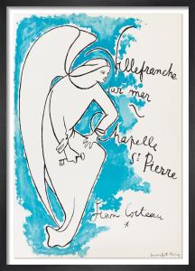 Chapelle Saint Pierre, Villefranche sur Mer, 1957 by Jean Cocteau