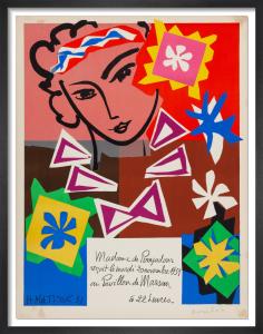 Madame de Pompadour, 1959 by Henri Matisse