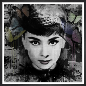Ghosts: Audrey Hepburn by VeeBee