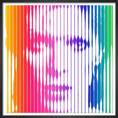 David Bowie (Rainbow) by VeeBee