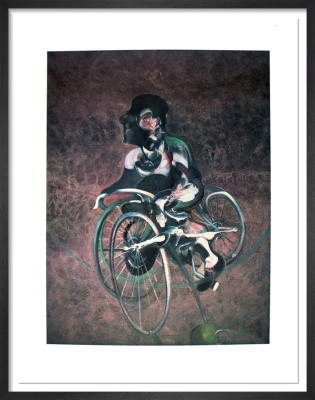 Georges a Bicyclette by Francis Bacon