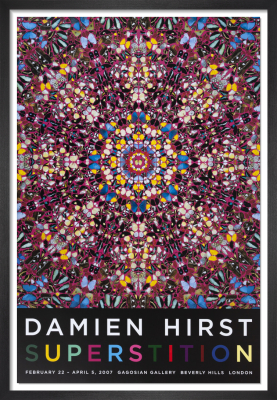 Superstition (2007) by Damien Hirst