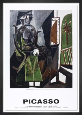 Femme assise pres de la fenetre by Pablo Picasso