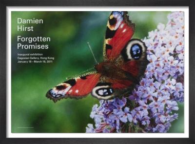 Forgotten Promises (Inachis io in Buddleja davidii) (2009) by Damien Hirst