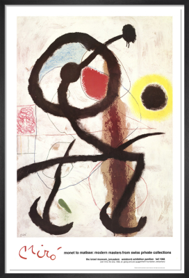 The Bird by Joan Miro