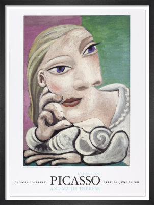 Portrait de Marie-Therese (1932) by Pablo Picasso