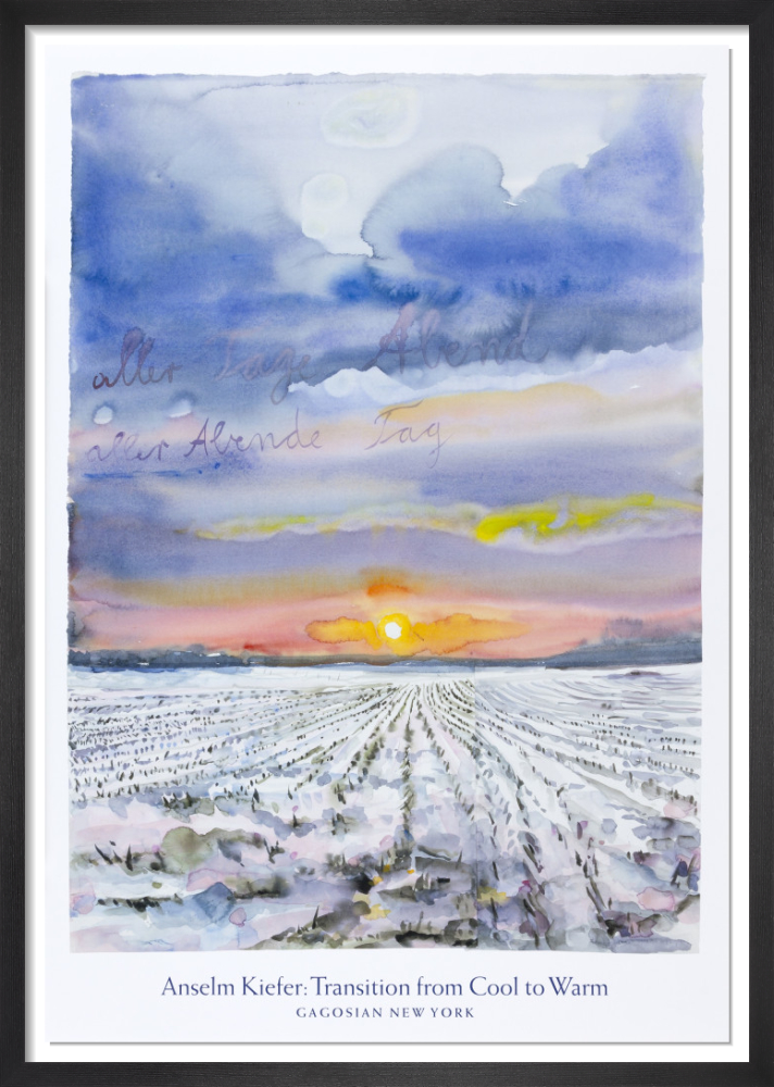 The Evening of All Days, The Day of All Evenings (2014) by Anselm Kiefer