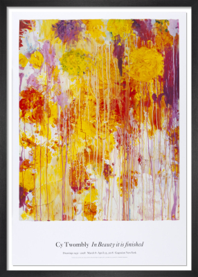 Untitled (2001) by Cy Twombly