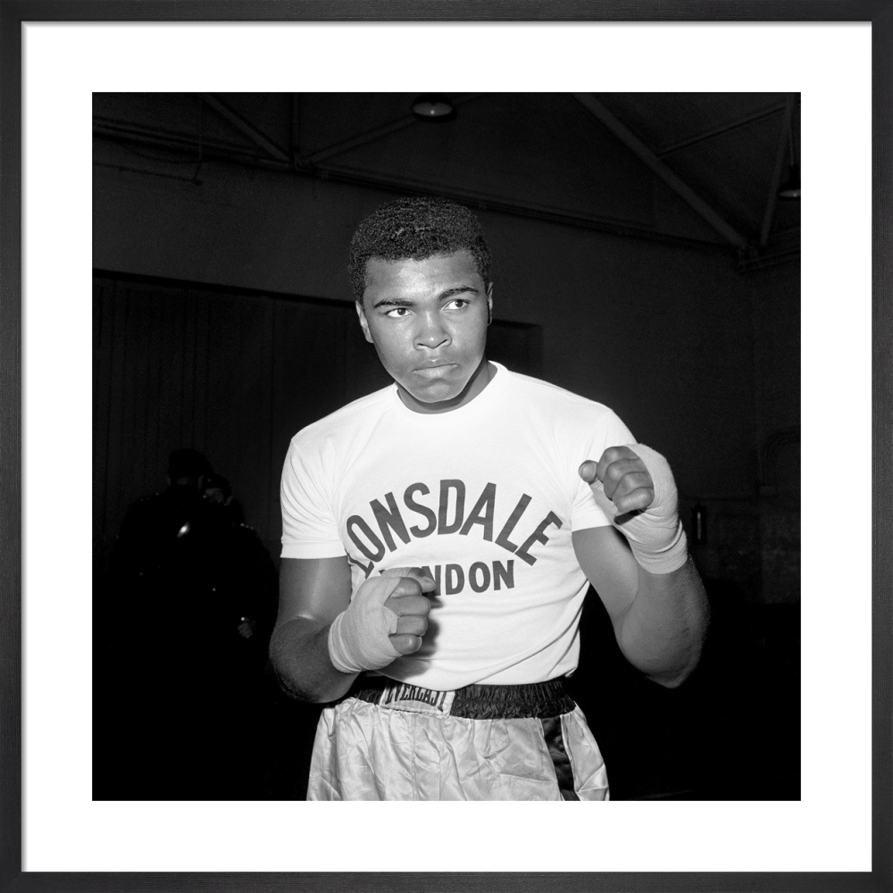Muhammad Ali, 1963 by PA Images