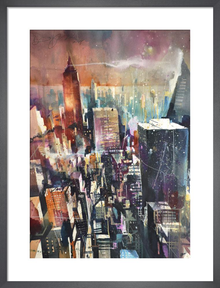 NY from the Rock by Bernard Vogel