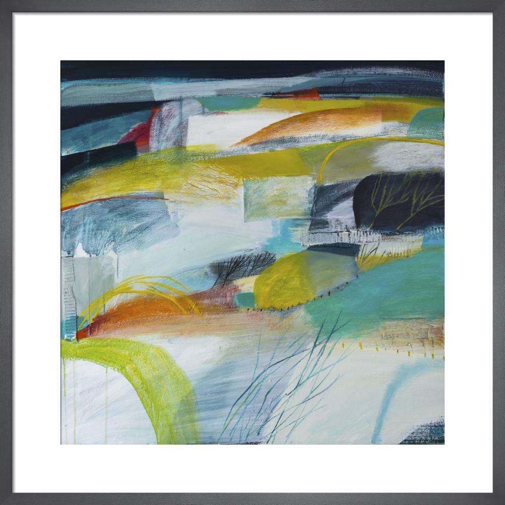Land Lines 5 by Karen Birchwood