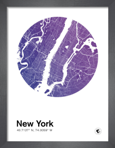 New York by MMC Maps
