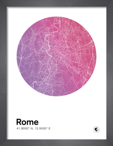 Rome by MMC Maps