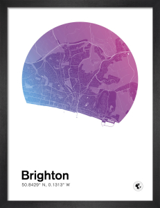 Brighton by MMC Maps