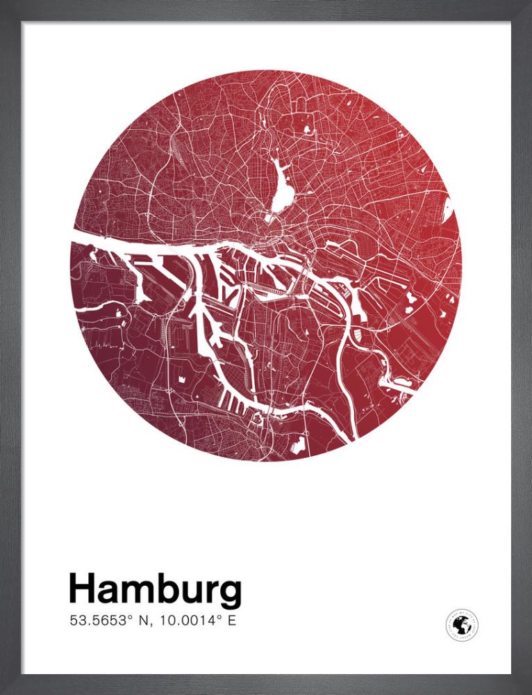 Hamburg by MMC Maps