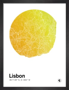 Lisbon by MMC Maps