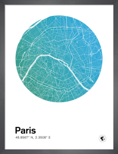 Paris by MMC Maps