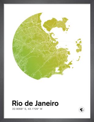 Rio de Janeiro by MMC Maps