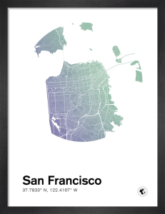 San Francisco by MMC Maps