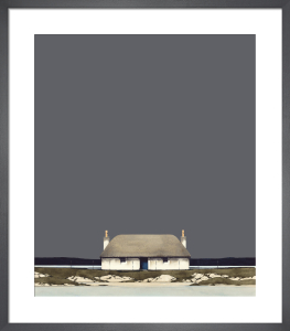 Hebridean Blackhouse by Ron Lawson