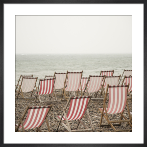 Deckchairs on Beer Beach by Scott Dunwoodie