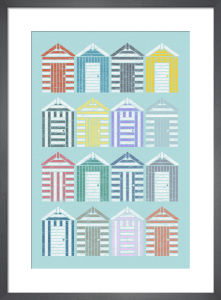 Beach Huts by Jeremy Harnell