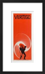 Vertigo (1958) by Saul Bass